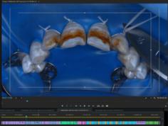 Раскраска таймлайна в видеоредакторе